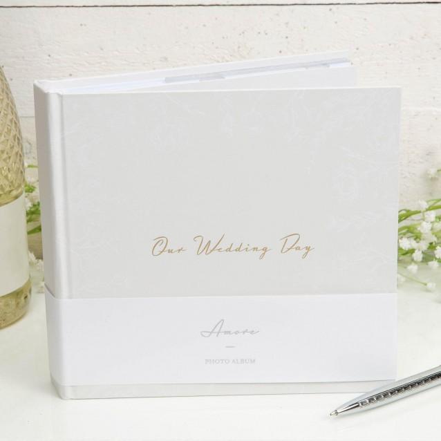 Άλμπουμ Φωτογραφιών Our Wedding Day 15x10cm 50 σελίδων