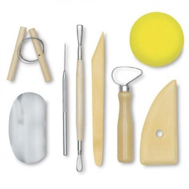 8 Εργαλεία και Αξεσουάρ Γλυπτικής