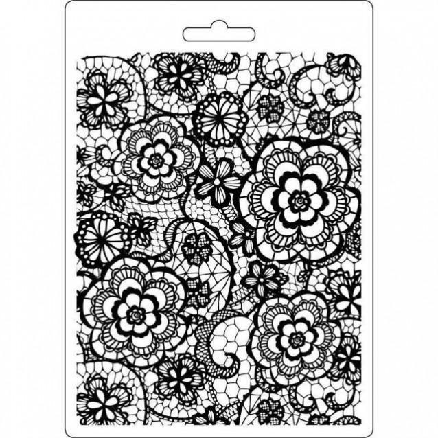 Stamperia Φόρμα Πηλού Α5 Flowered Texture