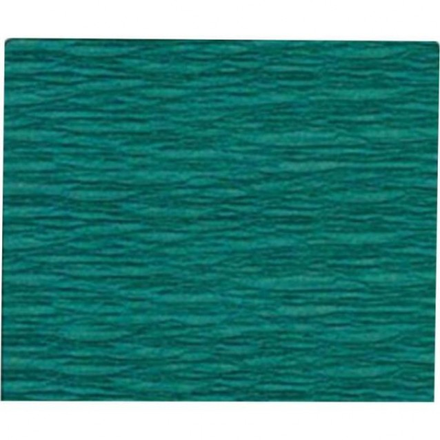 Χαρτί Γκοφρέ (Κρεπ) 50x200cm Πράσινο Σκούρο