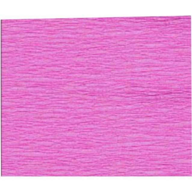 Χαρτί Γκοφρέ (Κρεπ) 50x200cm Ροζ