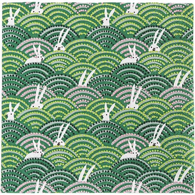 Rico Design 20 Χαρτοπετσέτες Λαγουδάκια Εξοχή