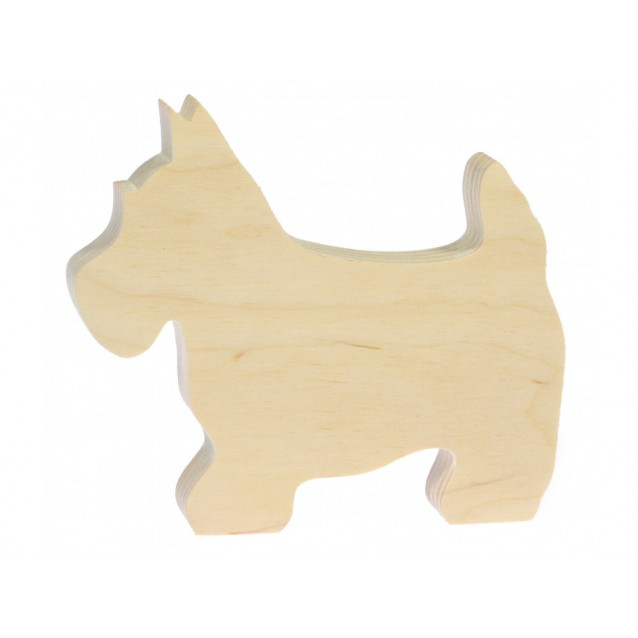 Ξύλινο Σκυλάκι 8X9cm