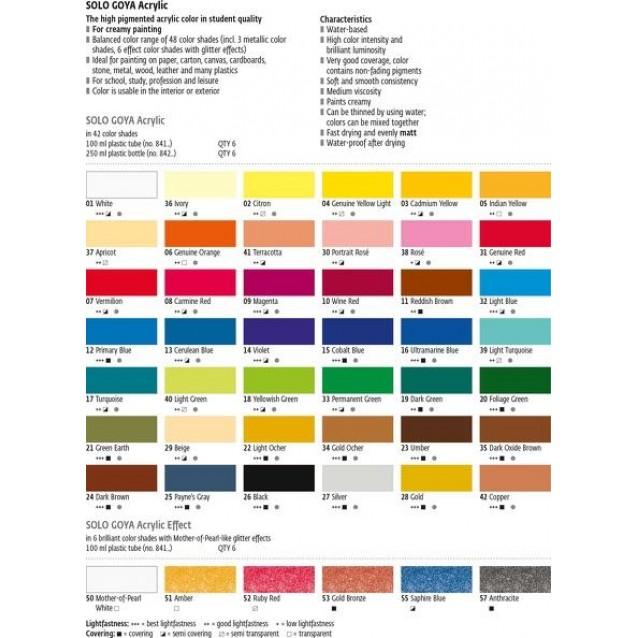 Solo Goya 100ml Acrylic Indian Yellow