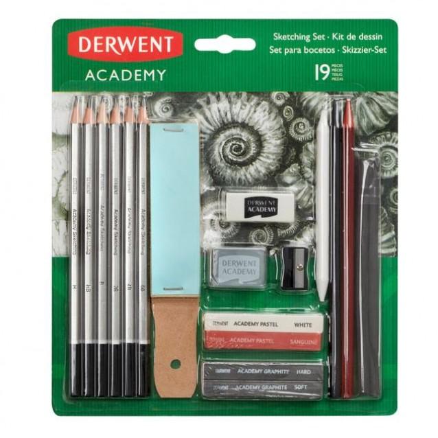 Derwent Academy Sketching Set