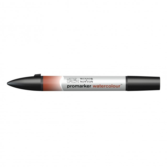 Winsor & Newton Μαρκαδόρος Promarker Watercolour 061 Burnt Red