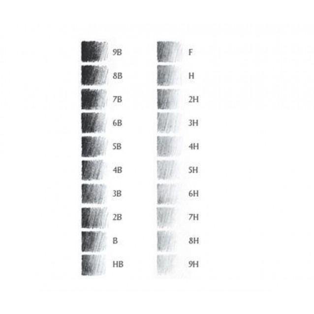 Derwent Graphic Μολύβι Σχεδίου 2Β