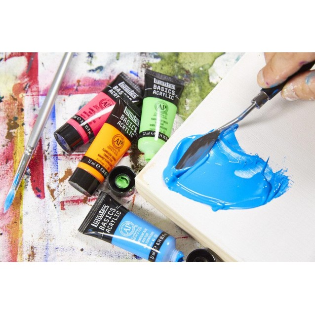 Liquitex Basics 118ml Acrylic 160 Cadmium Yellow Light Hue