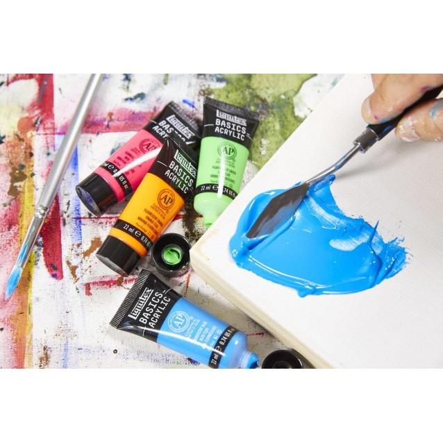 Liquitex Basics 118ml Acrylic 660 Bright Aqua Green