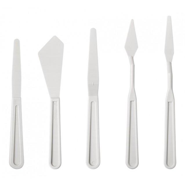 5 Πλαστικές Σπάτουλες