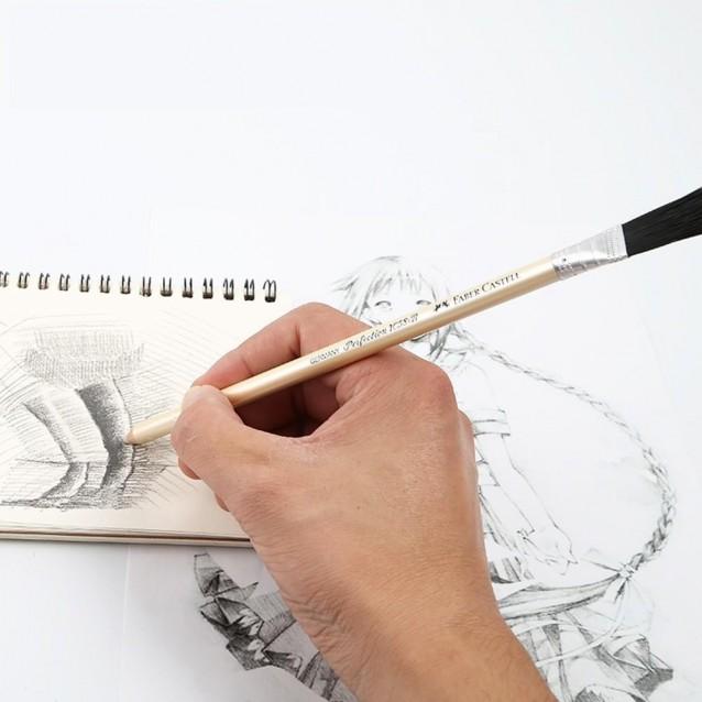 Faber Castell Μολύβι Γόμα με Βουρτσάκι