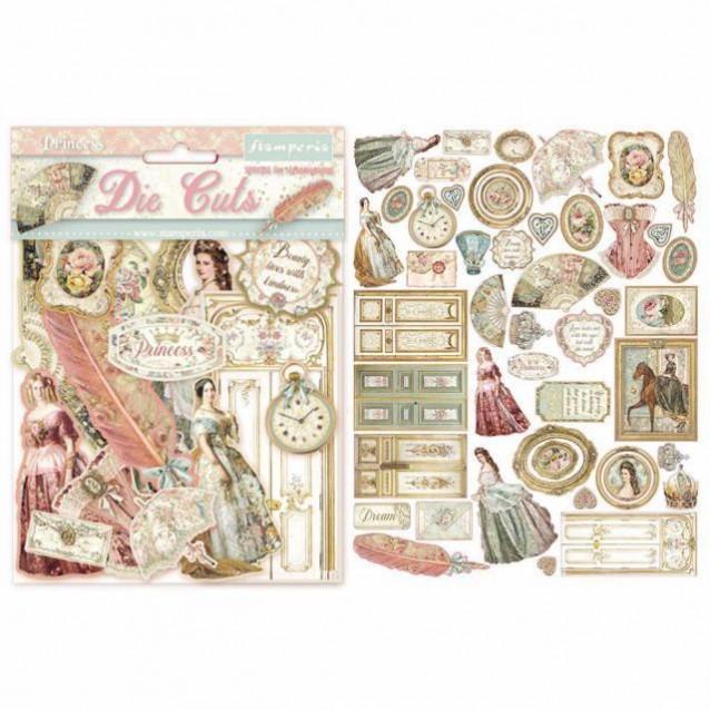 Stamperia Διάφορα Διακοσμητικά Scrapbooking Princess