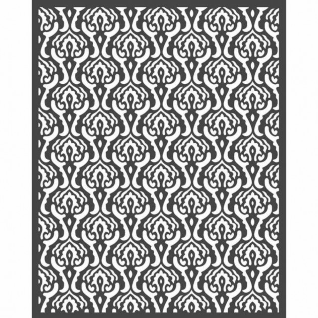Stamperia Χονδρό Στένσιλ 0,5mm 20x25cm Texture 1