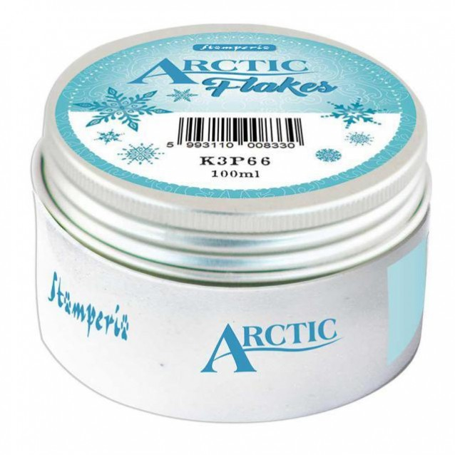 Stamperia 100ml Arctic Flakes