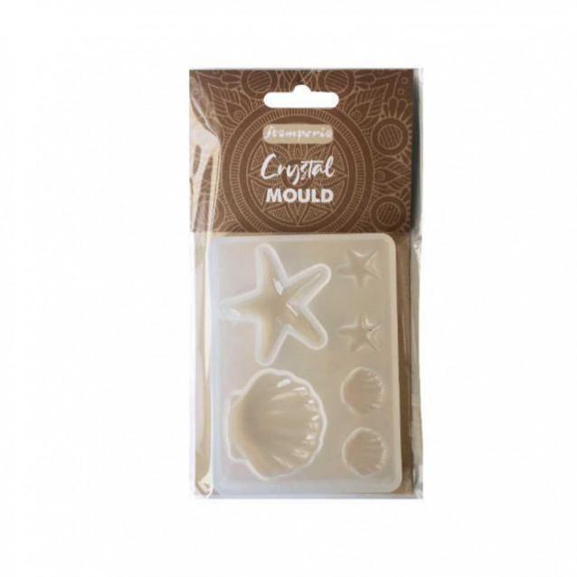 Stamperia Καλούπι Σιλικόνης 6x2cm Shells
