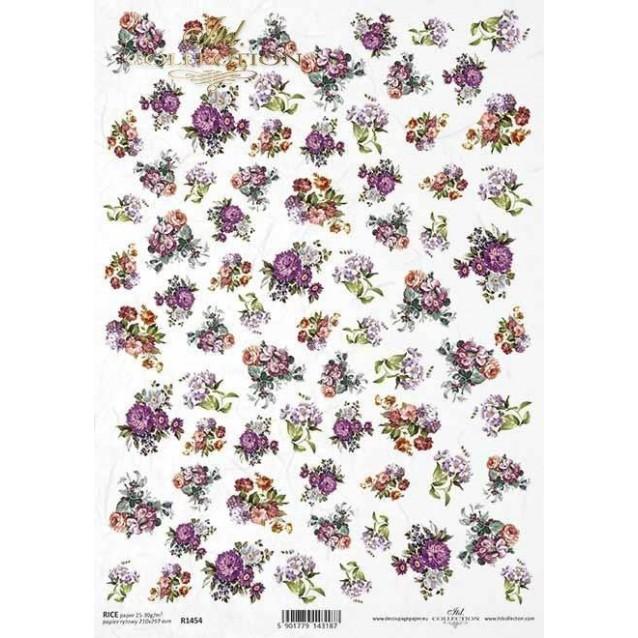 Itd. Collection Ριζόχαρτο Decoupage A4 (21x29,7cm) Anemones