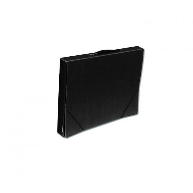Σχεδιοθήκη Χάρτινη A3 (31x44x4 cm) Μαύρη