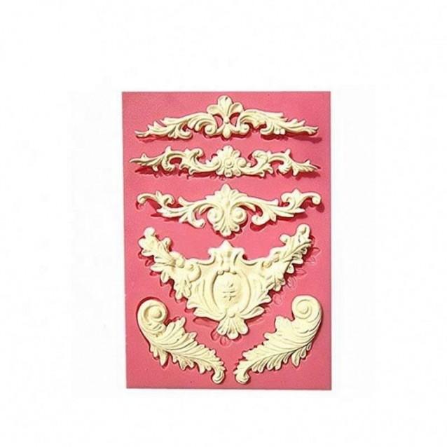 Καλούπι Σιλικόνης 13,9x10x0,7cm Classic Decoration