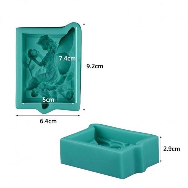 Καλούπι Σιλικόνης 9,2x6,4x2,9cm Νεράιδα