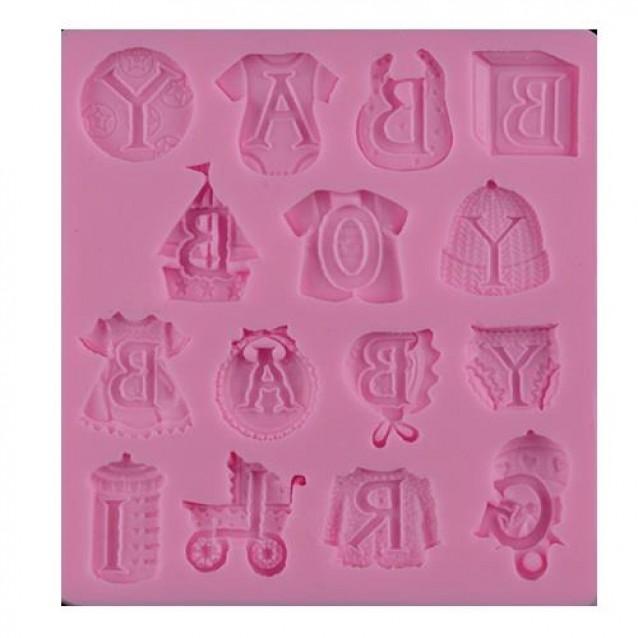 Καλούπι Σιλικόνης 11x10,3x0,8cm Baby Decoration