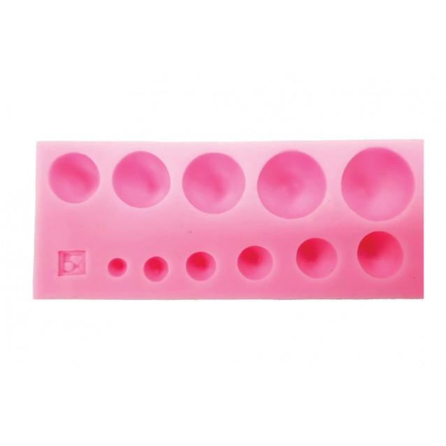 Καλούπι Σιλικόνης 13x5,2x1,5cm Πέρλες