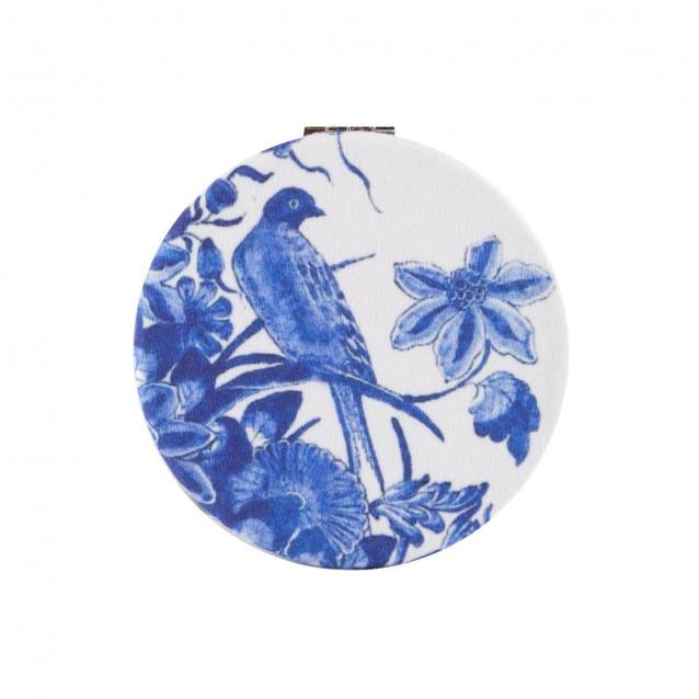Καθρεφτάκι Μακιγιάζ 62mm Delft Blue Birds