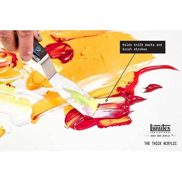 Liquitex Professional 59ml Heavy Body Acrylics 323 Pyrrole Orange Series 4