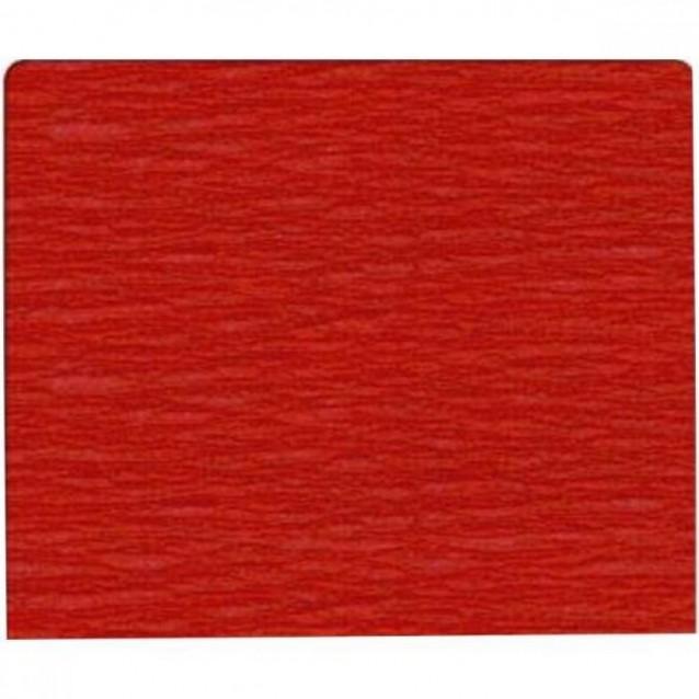Χαρτί Γκοφρέ (Κρεπ) 50x200cm Κόκκινο Καρμίν