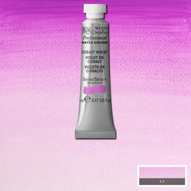 Winsor & Newton 5ml Professional Ακουαρέλα 192 Cobalt Violet Series 4