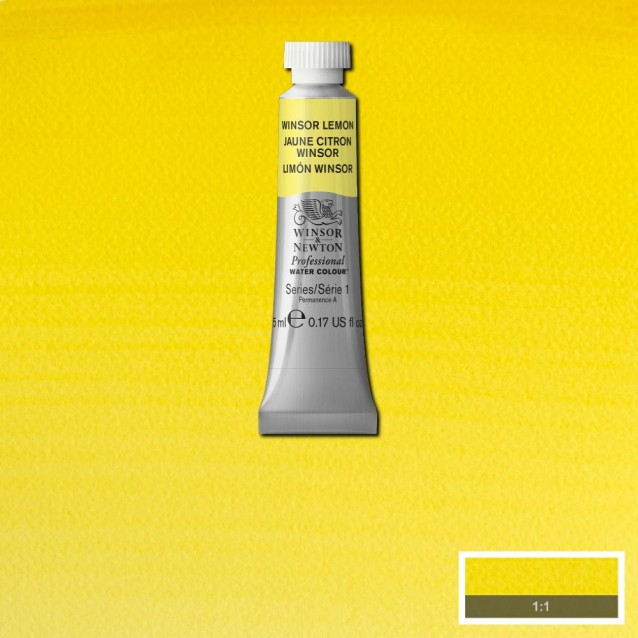 Winsor & Newton 5ml Professional Ακουαρέλα 722 Winsor Lemon Series 1