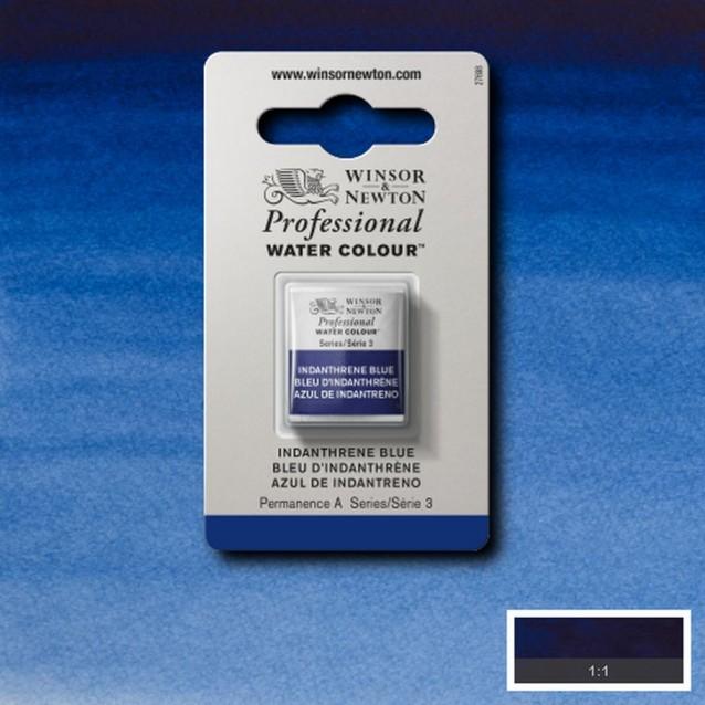 Winsor & Newton Half Pan Professional Ακουαρέλα 321 Indanth Blue S3
