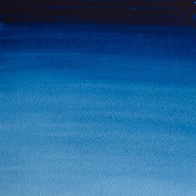 Winsor & Newton Half Pan Professional Ακουαρέλα 538 Prussian Blue S1