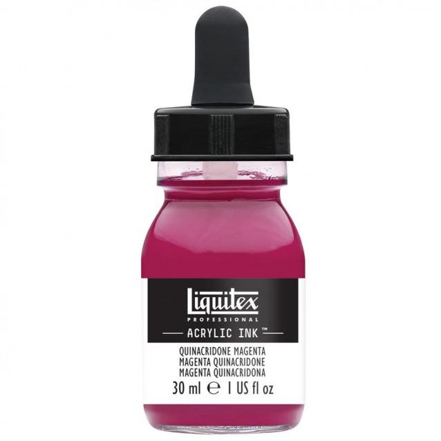 Liquitex Professional Acrylic Ink 30ml 114 Quinacridone Magenta
