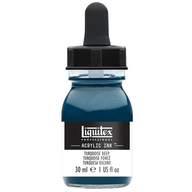 Liquitex Professional Acrylic Ink 30ml 561 Turquoise Deep