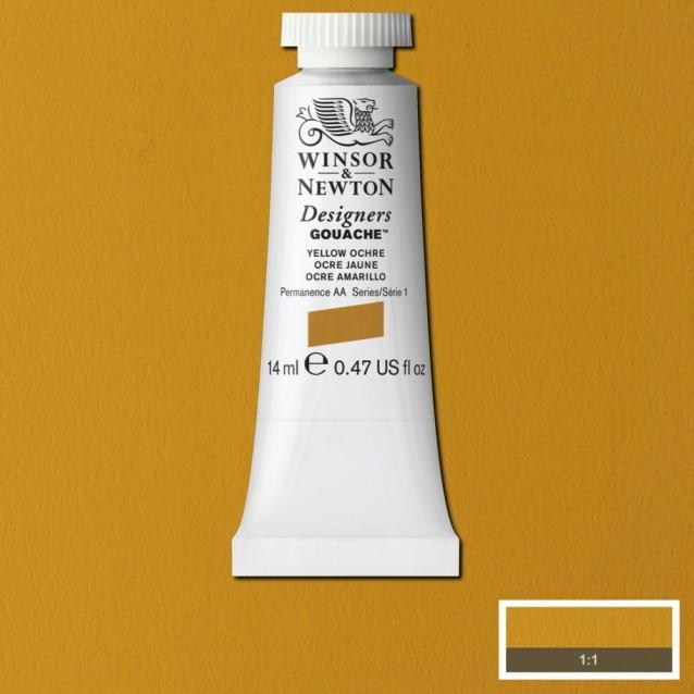 Winsor & Newton 14ml Τέμπερα Designers Yellow Ochre Serie 1