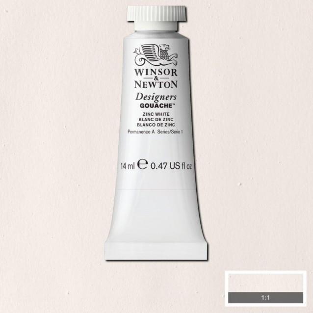 Winsor & Newton 14ml Τέμπερα Designers Zinc White Serie 1