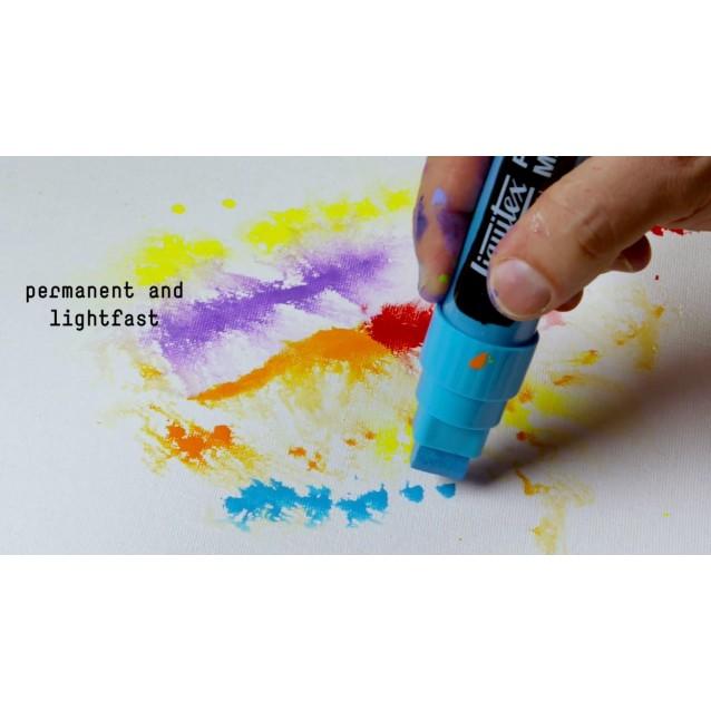 Liquitex Professional Μαρκαδόρος Λεπτός 2mm Fluorescent Orange