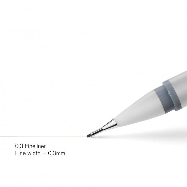 Winsor & Newton Cool Grey Μαρκαδοράκι Fineliner 0.3