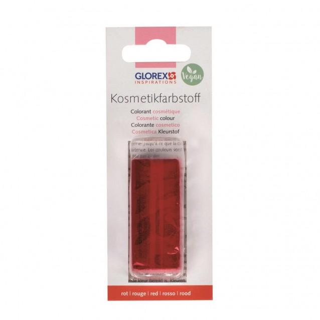 Glorex 25g Φυσικό Χρώμα για Σαπούνι - Κοκκινο