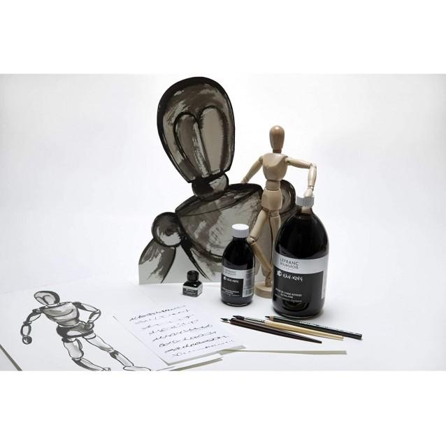 Lefranc & Bourgeois 250ml Μαύρη Σινική Μελάνη Nan-King