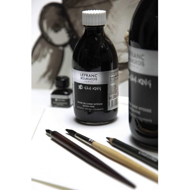 Lefranc & Bourgeois 1 lt Μαύρη Σινική Μελάνη Nan-King