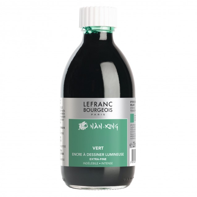 Lefranc & Bourgeois 250ml Πράσινη Σινική Μελάνη Nan-King