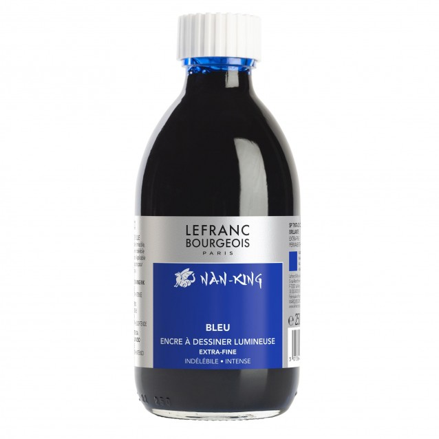 Lefranc & Bourgeois 250ml Μπλε Σινική Μελάνη Nan-King