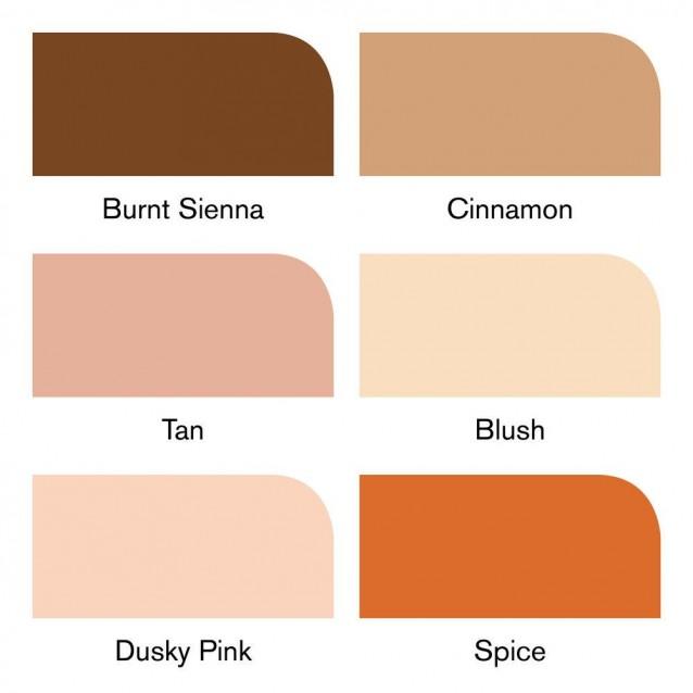 Winsor & Newton 6 Μαρκαδόροι Promarker Χρώμα Δέρματος Set 2