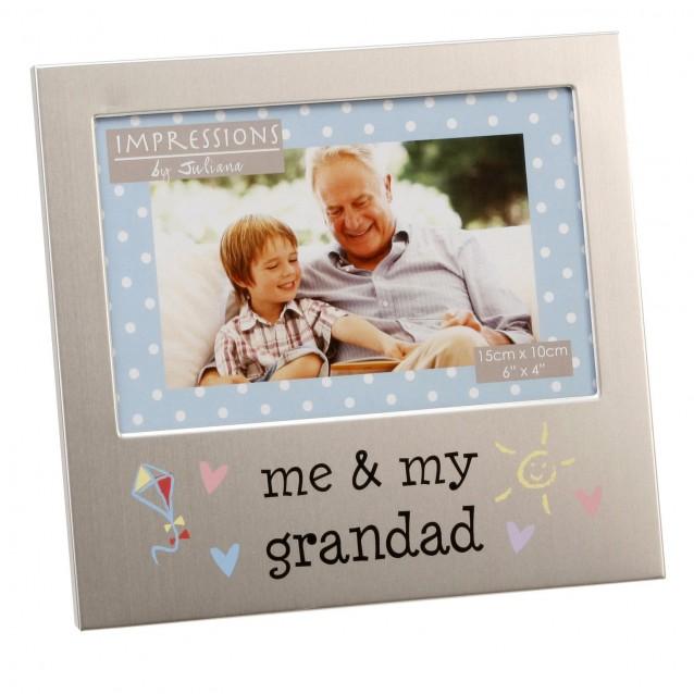 Κορνίζα από Αλουμίνιο 10x15cm Me & My Grandad