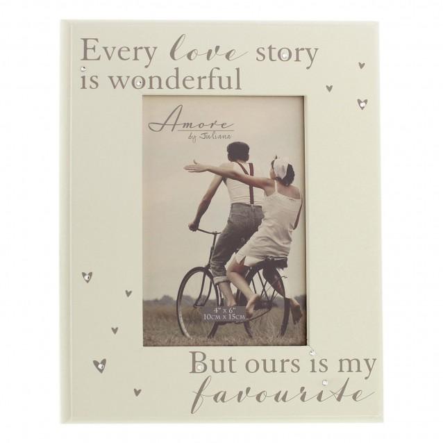Κορνίζα 10x15cm Every Love Story…