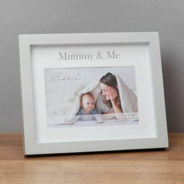 Λευκή Κορνίζα 10x15cm σε Κουτί Δώρου Mummy & Me