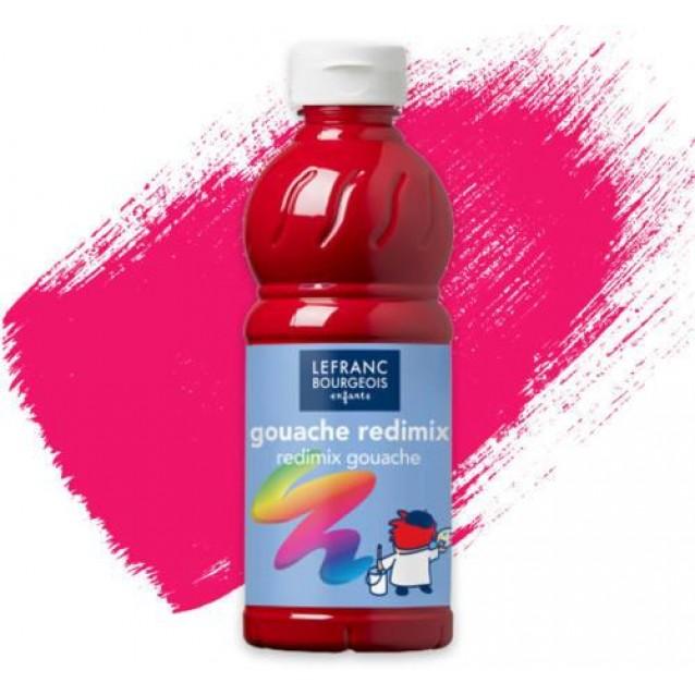 Lefranc & Bourgeois 500ml Τέμπερα Redimix 437 Primary Red
