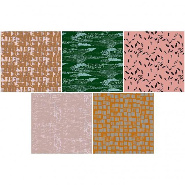 Rico Design 50 Χαρτάκια Οριγκάμι 15x15cm 70gr Nature Matters FSC