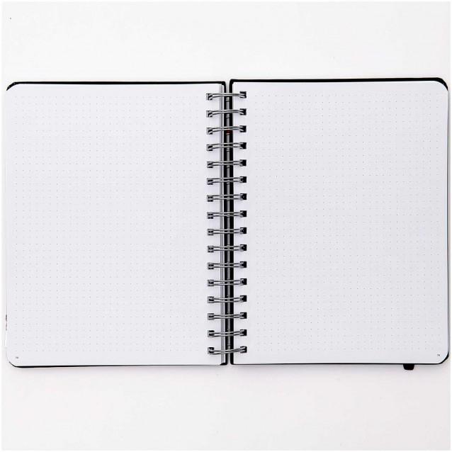 Rico Design Ημερολόγιο Bullet Diary 16,5X21,5cm 96 φύλλων με Σπιράλ